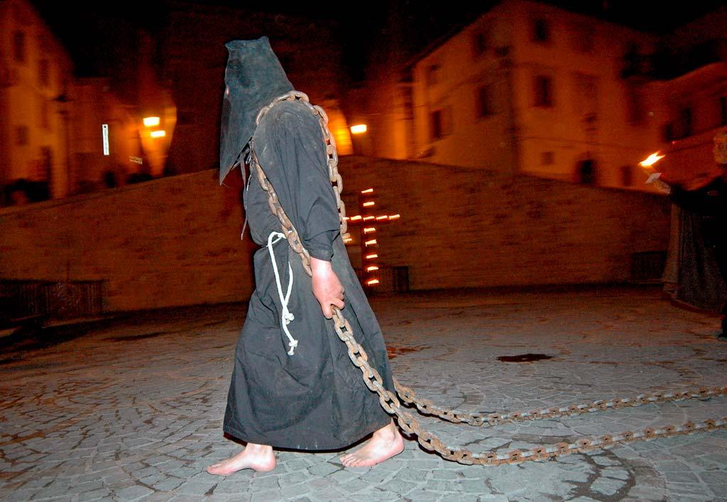 Processione del Venerdì Santo a Cascia