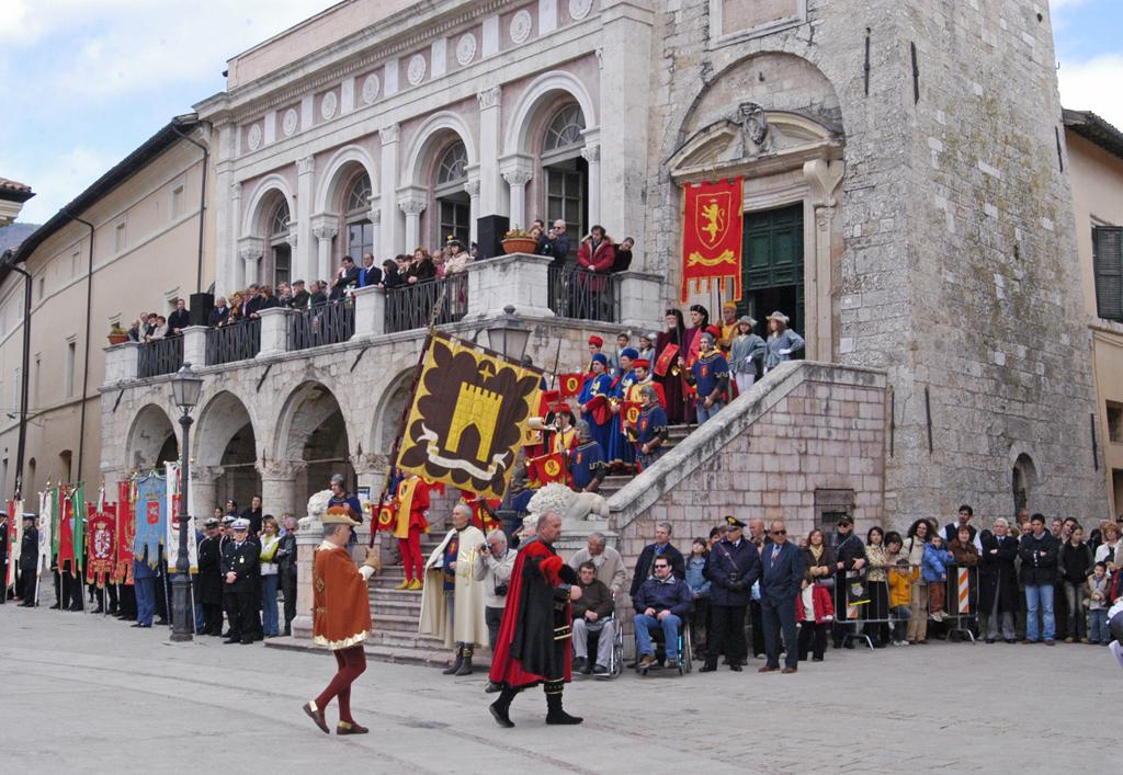 Festa San Benedetto a Norcia