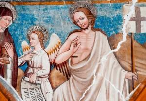 La Resurrezione nella Chiesa di San Salvatore a Campi di Norcia