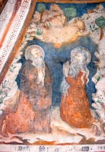 Sant'Antonio Abate e San Paolo di Tebe, suo maestro