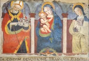 Norcia, San Benedetto, Santa M. Argentea