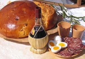 Colazione di Pasqua in Valnerina