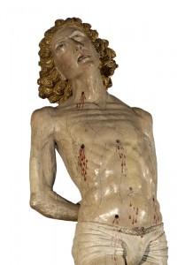 Statua lignea di San Sebastiano, XV secolo