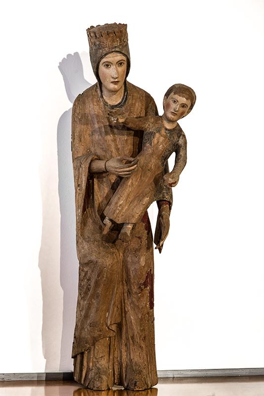 UMNE-004_Palazzo Santi, Madonna con il Bambino o Madonna Rosa (1260-1270)